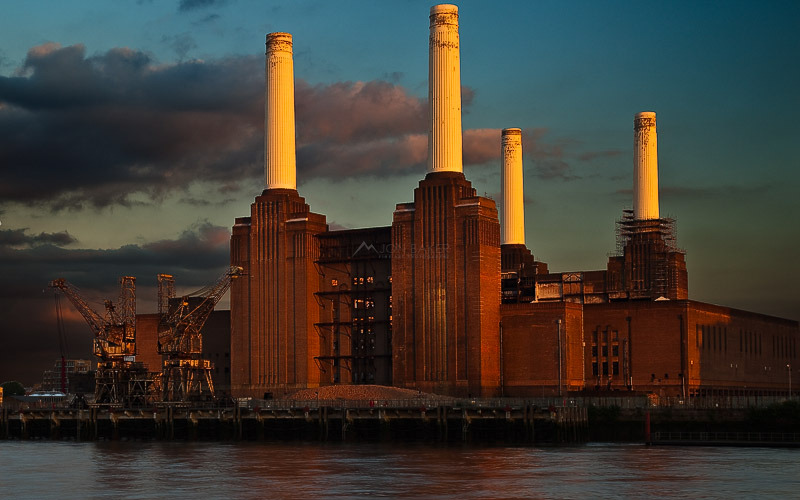 Battersea Power Station, England