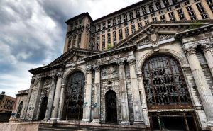 Michigan Central Station, Michigan U.S.A